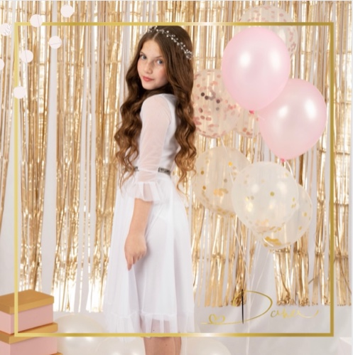 שמלת דניאלה לבת מצווה