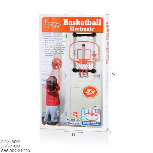 לוח כדורסל לתליה על דלת