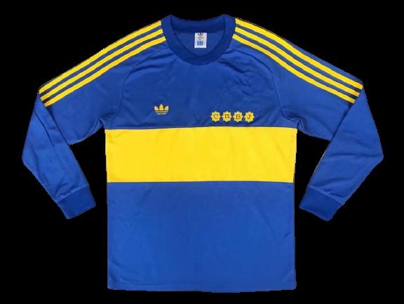 חולצת חורף מראדונה בוקה 1982