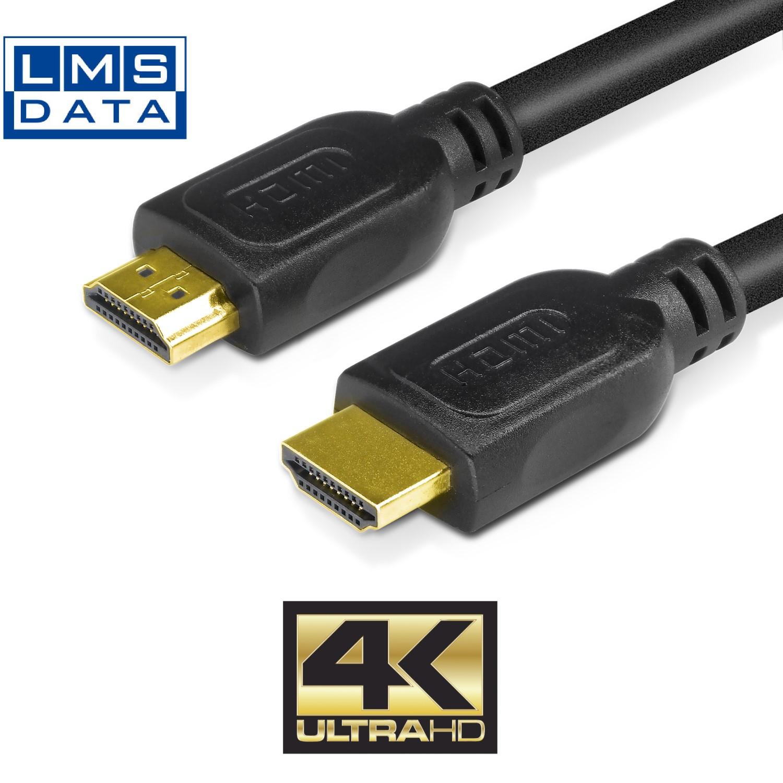 כבל HDMI באורך 20 מטר מבית LMS DATA סיכוך כפול