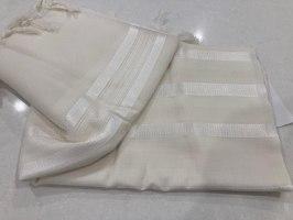 טלית פאר קל – בצבע לבן