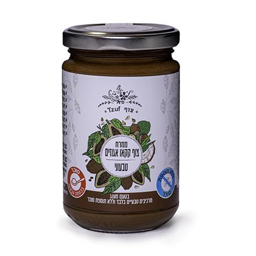 ממרח צוף קקאו אגוזים טבעוני - 350 גרם