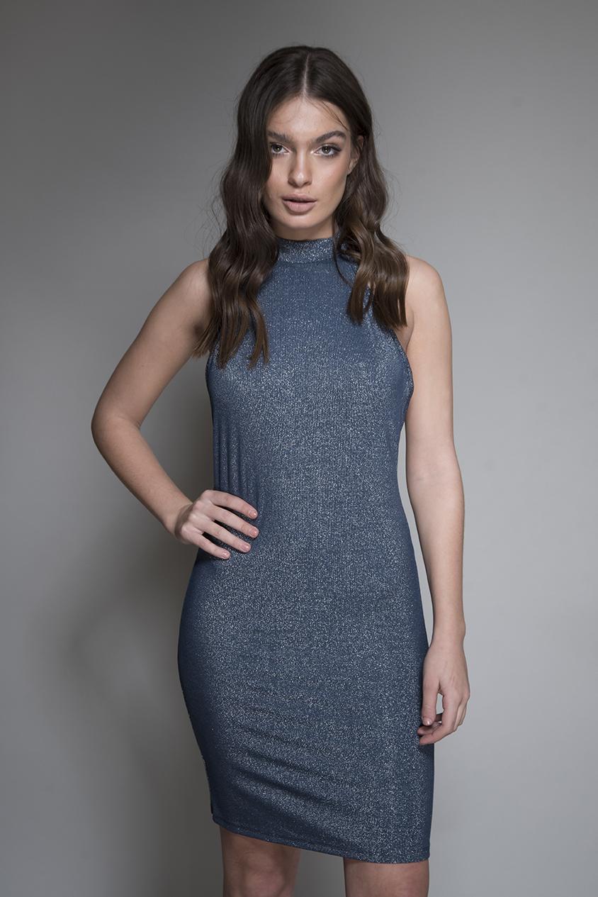 שמלה בריטני כחול