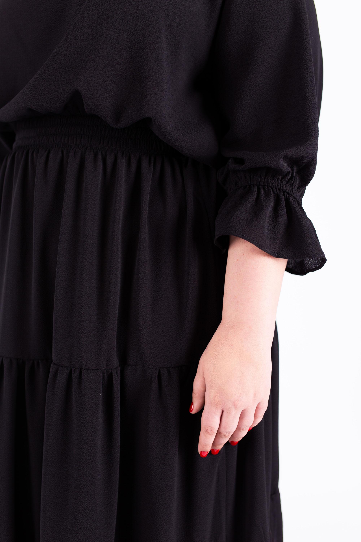 שמלת אווה שחורה