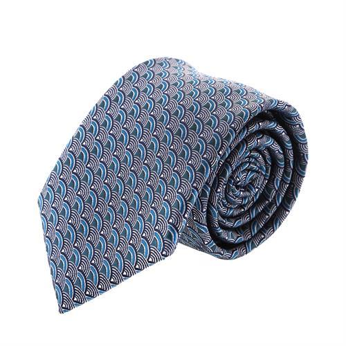 עניבה קלאסית קשתות תכלת