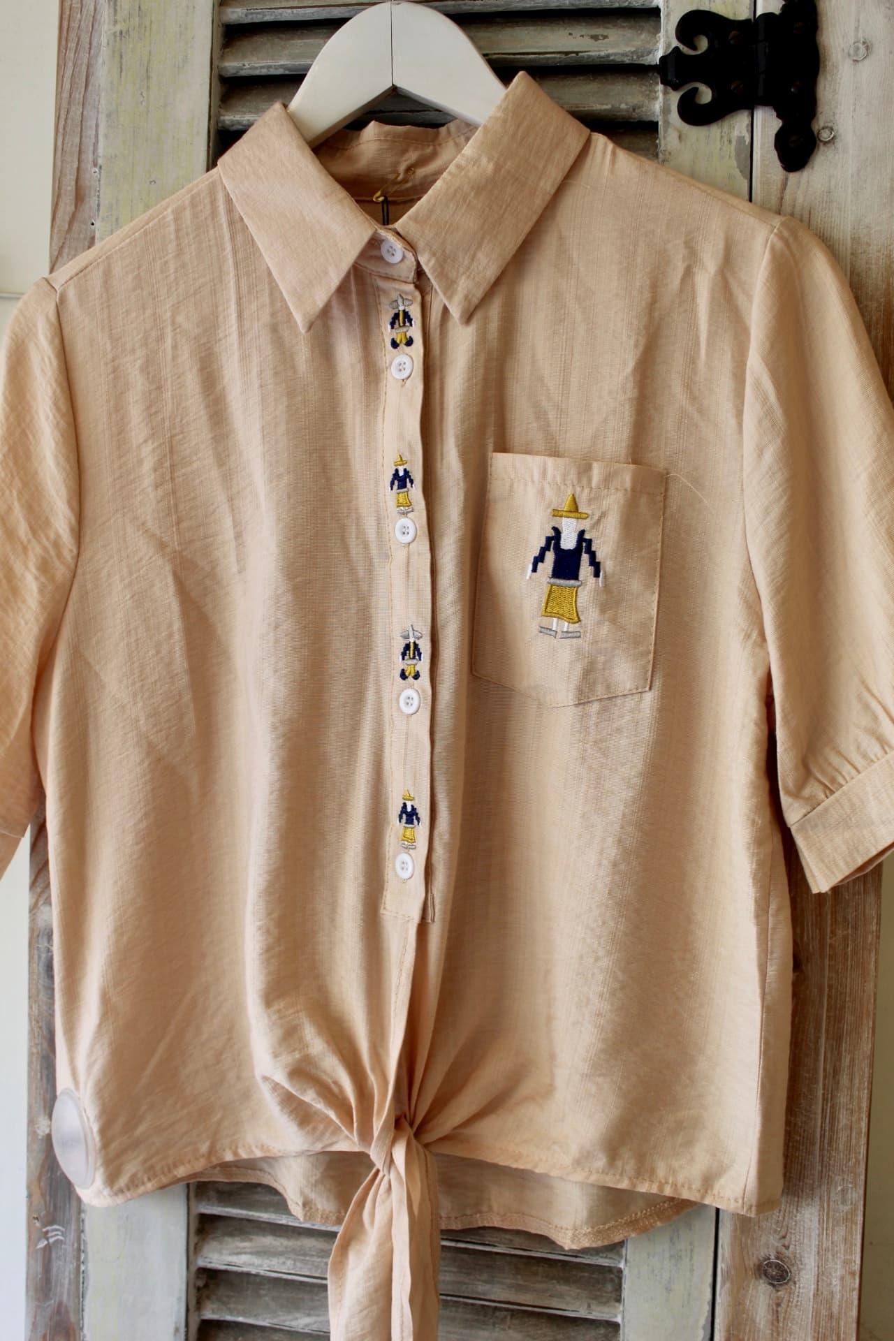 חולצת קנקון אפרסק