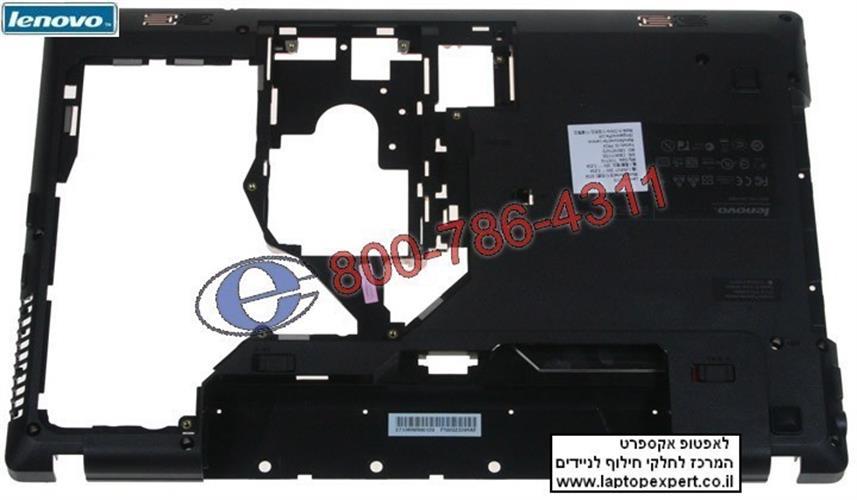 תושבת פלסטיק תחתית למחשב נייד לנובו Lenovo G570 bottom case AP0GM000A20