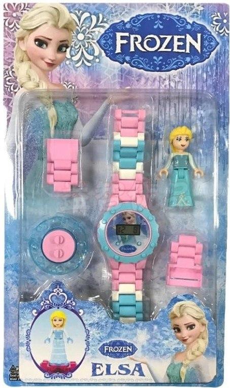 שעון לגו דיגיטלי אלזה
