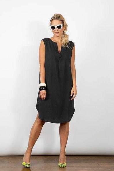 שמלת מיילי שחורה