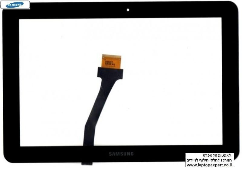 דיגיטייזר - מסך מגע ( טאצ' ) להחלפה בטאבלט סמסונג Samsung Galaxy Tab 2 10.1 P5110 P5100 Touch Screen Digitizer