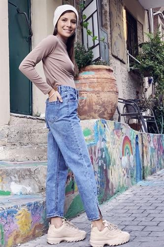 ג'ינס קווין ישר פתחים