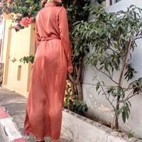 שמלת MAY מכופתרת - בריק