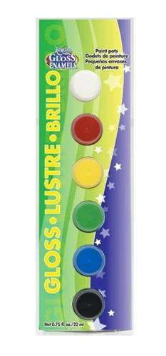 סט צבעי זכוכית אטומים אמריקנה DAPK255-B