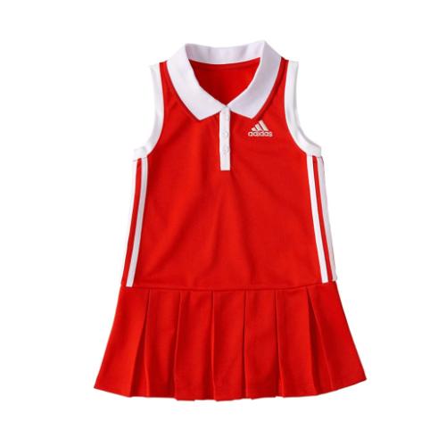 שמלת טניס אדומה ADIDAS בנות - 3-24 חודשים
