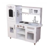 W10C543 - מטבח עץ לילדים לבן מיוחד - צעצועץ