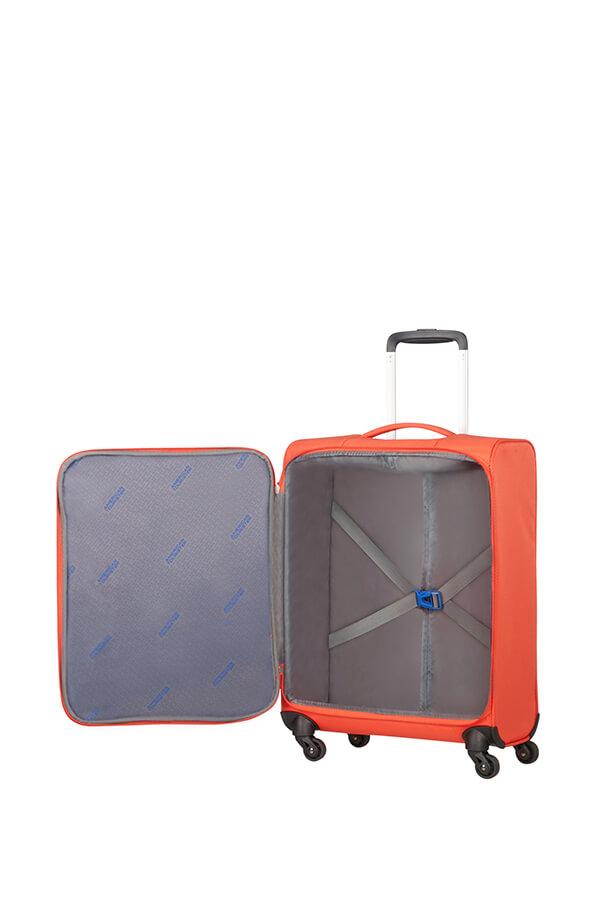 """מזוודת עליה למטוס 1.4 ק""""ג אמריקן טוריסטר מבית סמסונייט"""" AMERICAN TOURISTER LITEWING"""