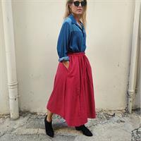 חצאית ריינה בורדו