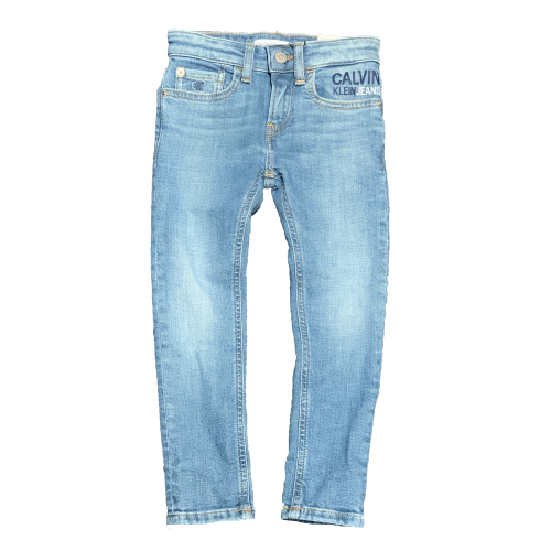 ג'ינס סקיני CALVIN KLEIN JEANS לוגו