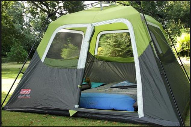אוהל משפחתי ל-6 אנשים Coleman בין רגע