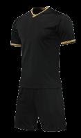 חליפת כדורגל שחור זהב