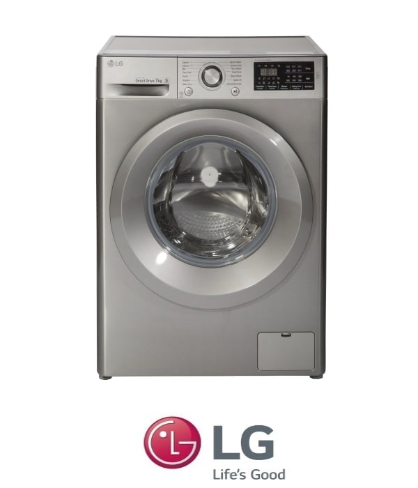 "LG מכונת כביסה 7 ק""ג  דגם F0712WS"