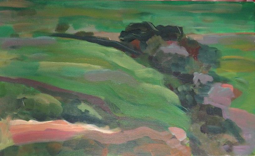 המרעה- הדפס ציור על קנבס