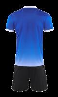 חליפת כדורגל כחול לבן
