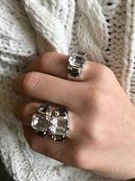 טבעת אלודי כסף