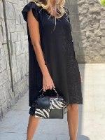 שמלת ברצלונה שחור THOMAS