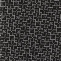 עניבה ריבועים תלת מימד שחור
