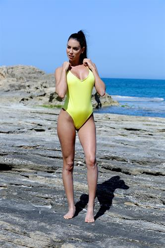 yellow one piece