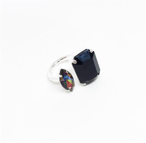 טבעת ג'יזל כסף