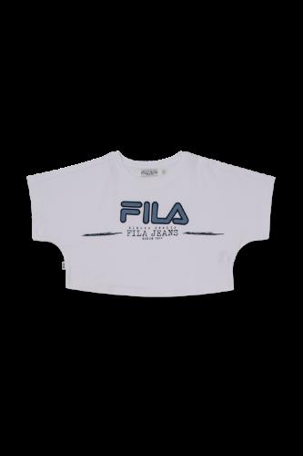 חולצת בטן לוגו ג'ינס (6-16) FILA