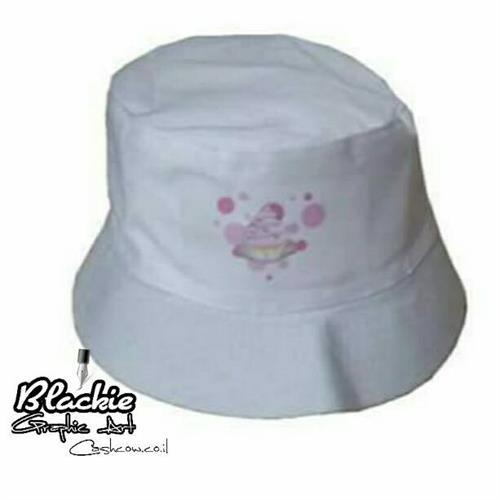 """כובע """"צבאי"""" הדפס גראפי קוקי קוקיס """"תותינקה"""""""
