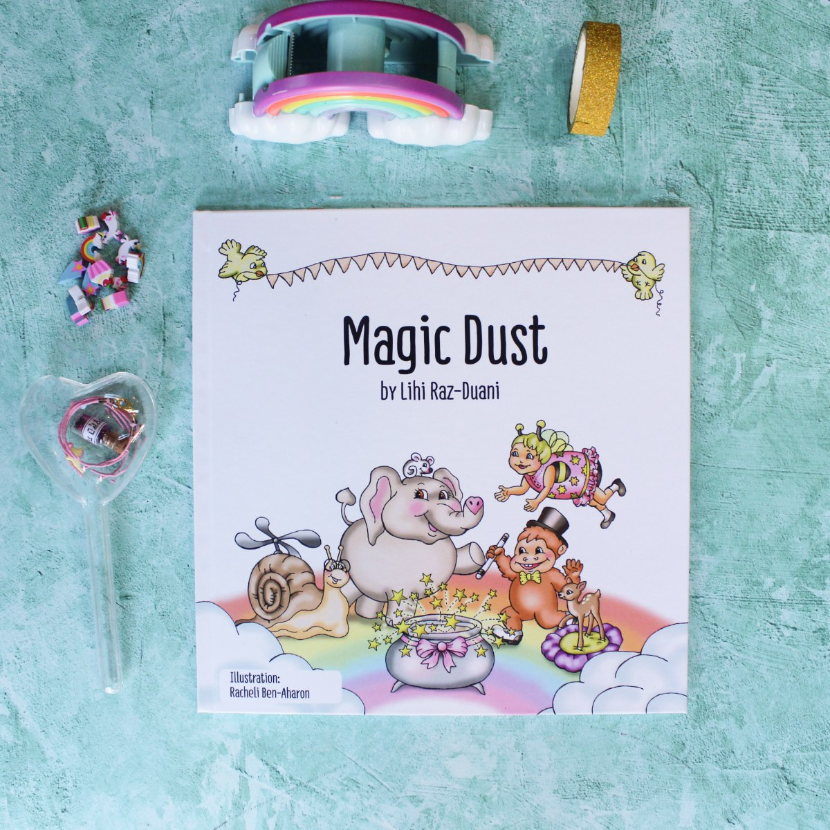 MAGIC DUST ספר ילדים