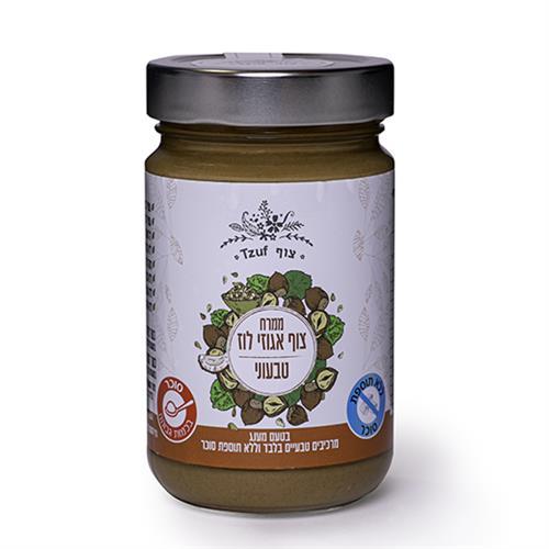 ממרח צוף אגוזי לוז טבעוני - 350 גרם