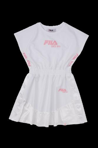 שמלה מסתובבת כפתורים FILA לבן 6-16