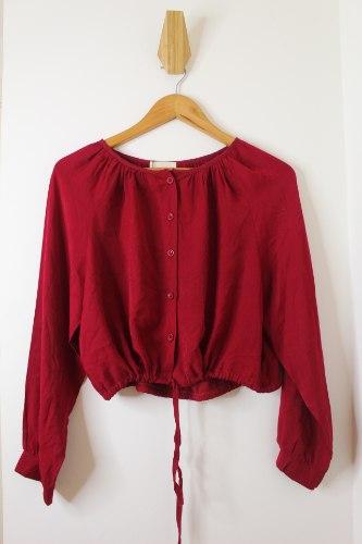 חולצת יעל אדומה