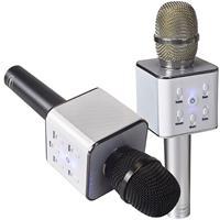 מיקרופון קריוקי משולב עם זוג רמקולים Bluetooth