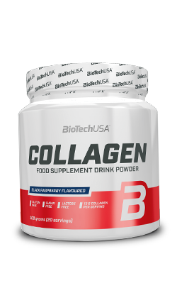 COLLAGEN|בטעם פטל שחור  קולגן טהור בשילוב חומצה היאלורונית