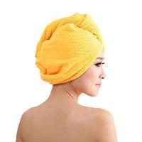 כובע מגבת הפלא לייבוש שיער
