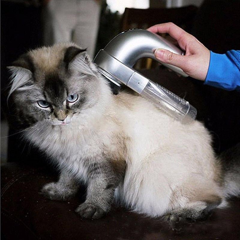 שואב שיער אלחוטי לחיות מחמד Shed Vac פשוט ונוח לשימוש