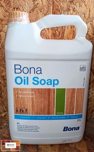 בונה סבון לפרקט בגמר שמן Bona Soap