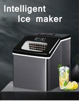 """מכונה אוטמטית לייצור קוביות קרח 25 ק""""ג קרח ב 24 שעות 24 קוביות כל 12 דקות"""