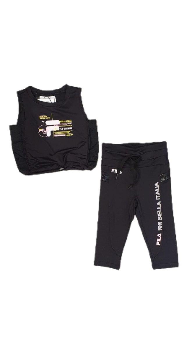 חליפת ספורט שחורה (FILA (6-16