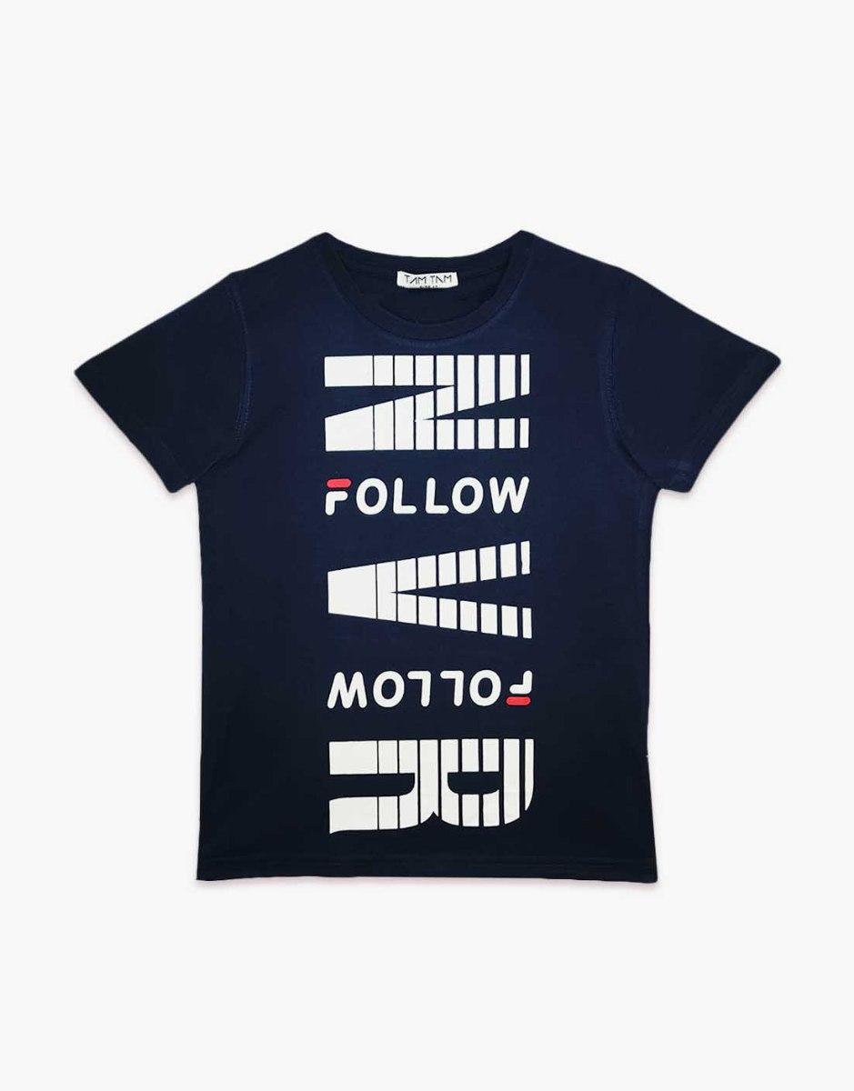 חולצת טריקו T בני  מעוצבת NVR