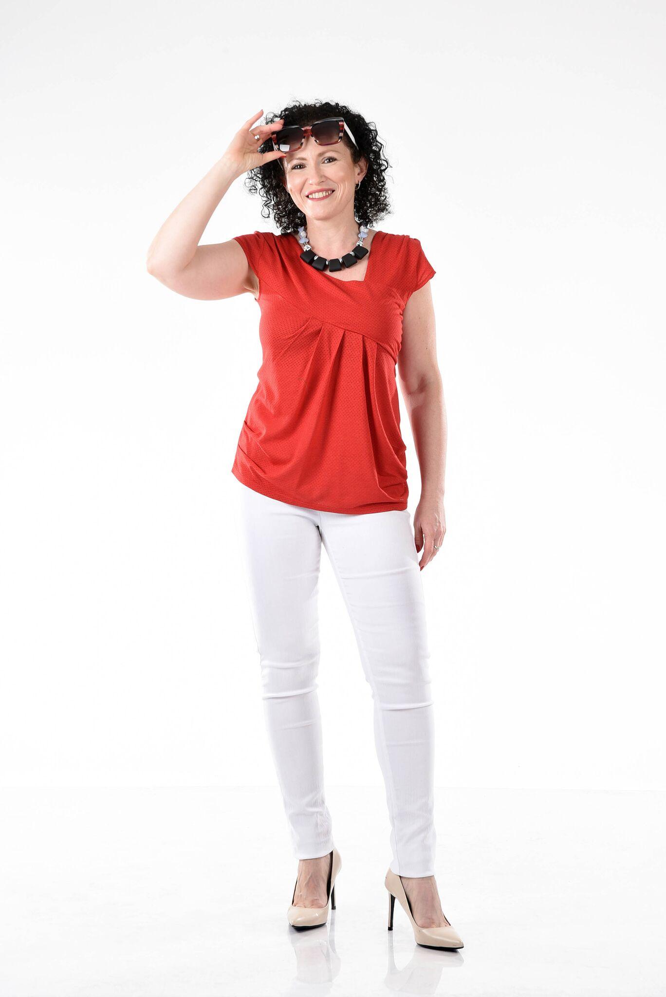 חולצה אוסטרליה לבנה