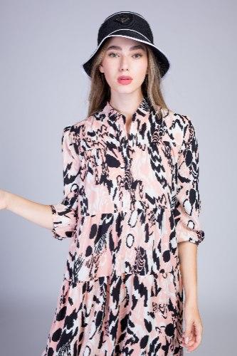 שמלה מקסי קומות