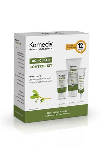 מסיכת בד לניקוי עמוק לעור שמן, אדמומי עם נטייה לפצעונים all AC - CLEAR FACE MASK5