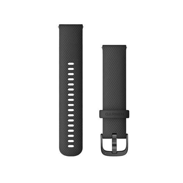 רצועה מקורית לשעון גרמין Garmin Quick Release Bands 20 mm שחור